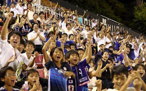 京都・滋賀のサポーターも熱狂 日本W杯6連続出場