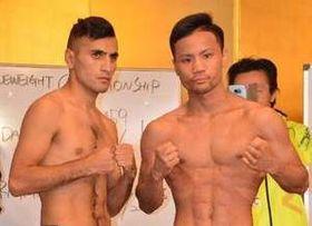 ボクシング世界戦 比嘉の対戦相手、計量オーバーで王座剥奪