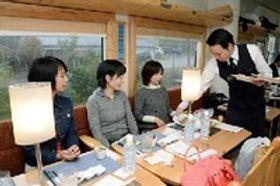 観光列車「おれんじ食堂」が運行再開