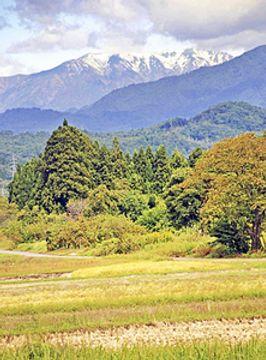 飯豊山『雪化粧』...吾妻山は初冠雪 福島県31地点で今季最低