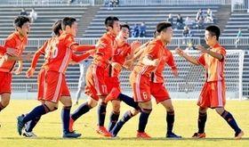 サッカー 福井大会 北陸がV2