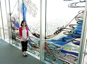 ハルカス美術館で「北斎展」 勇壮「天空の影絵」
