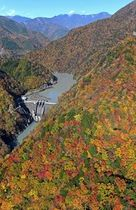 山肌色鮮やか 南アルプスで紅葉見頃 静岡