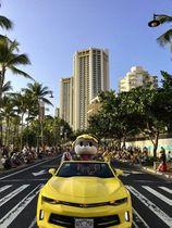 「ハワイで高知PR☆」 しんじょう君がフェス参加